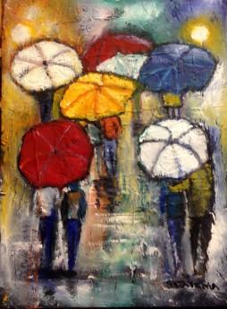 Umbrellas a Necessity