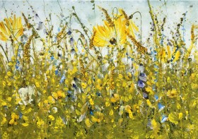 Wild flowers painting
