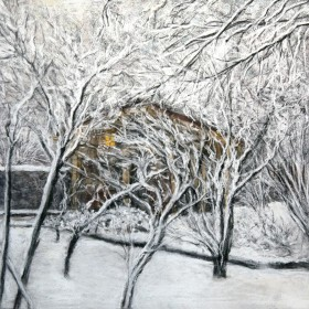 A Chalet In Winter