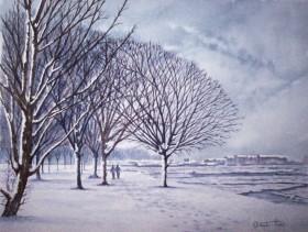Winter in Gosport