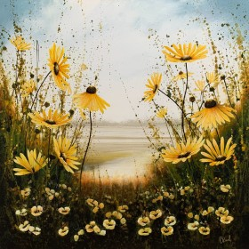 Yellow Floral Meadows