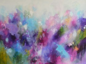 You Have Been Loved - Large Abstract Painting