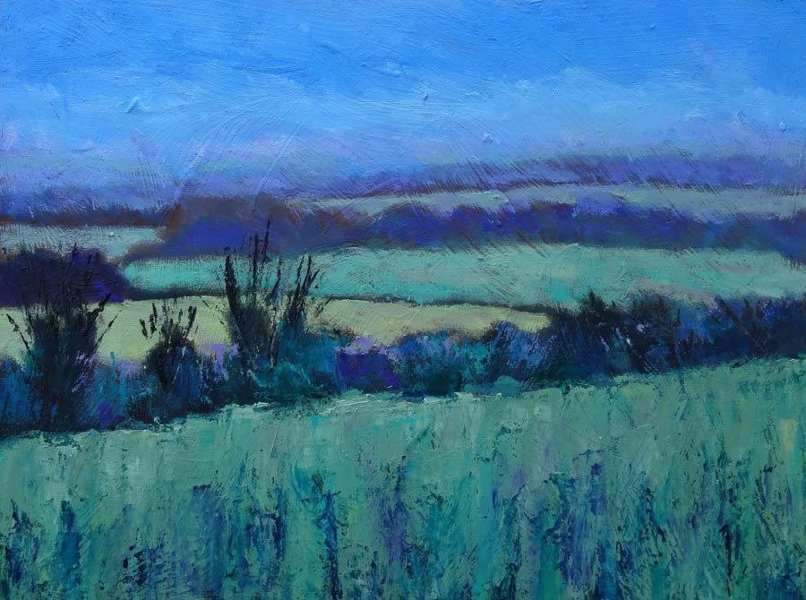 Spring Fields by Nikki Wheeler