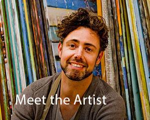 Ronald Hunter meet the artist image